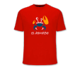 Camiseta Barrilete Roja